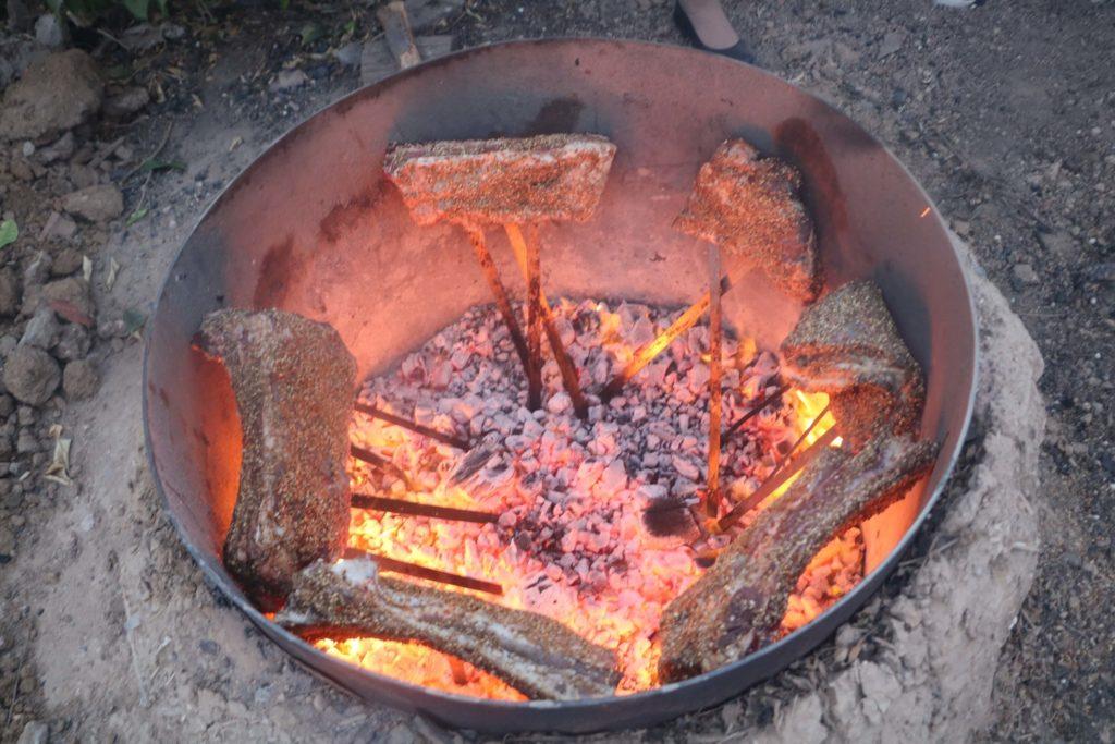 סדנת אסאדו בפרנה של השף רודד - נתחי אסאדו בתנור הפרנה